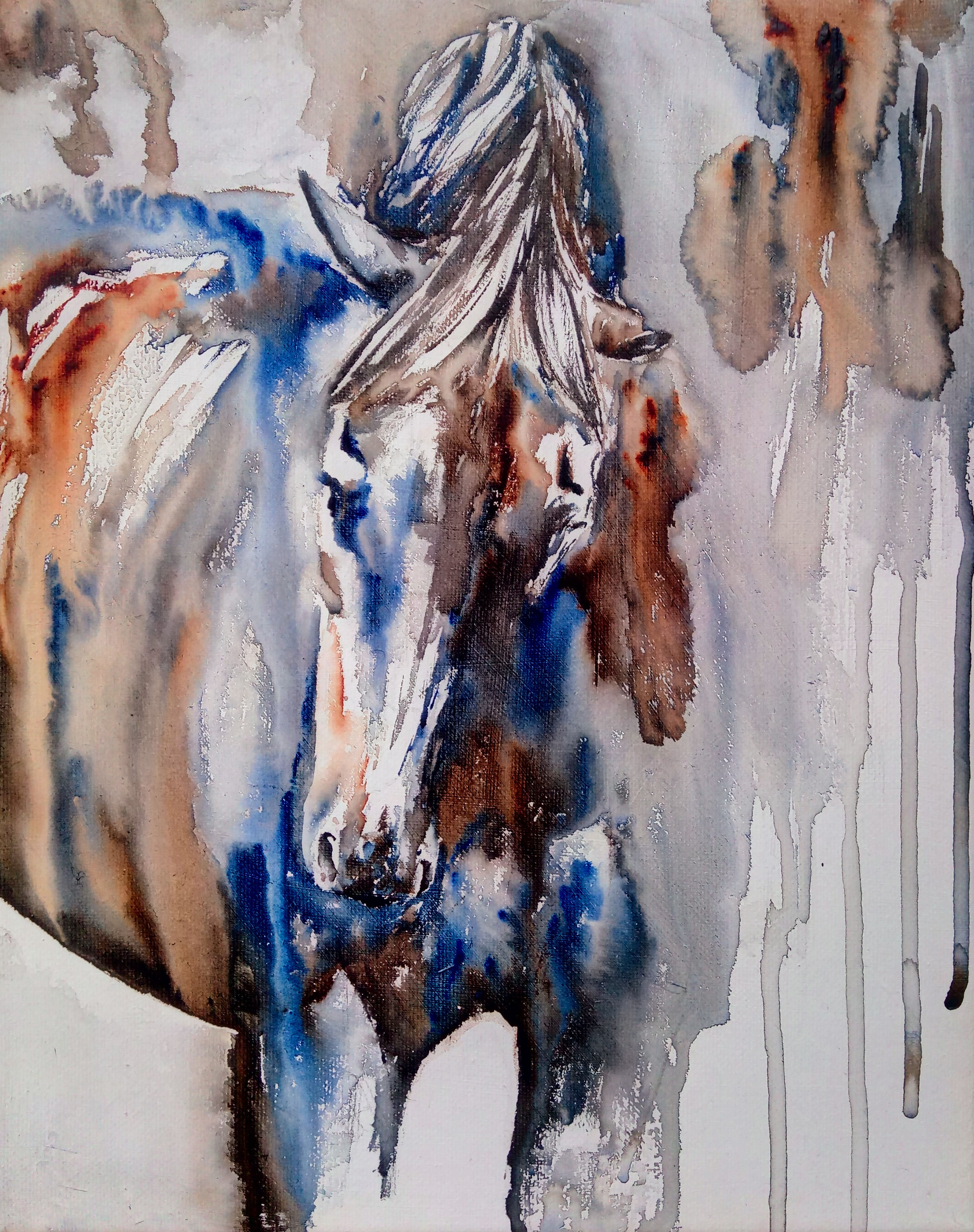 horse painting movie